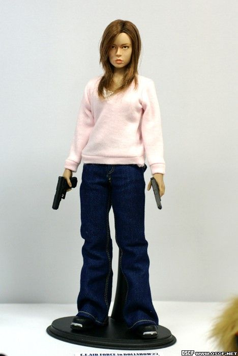 Summer Glau as Cameron Custom Action Figures
