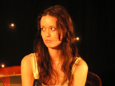 Summer Glau at Starfury Serenity in London