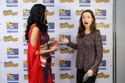 Summer's face when looking at this Inara cosplay at Comic Con Russia...Priceless!