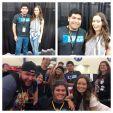 Summer Glau at Comicpalooza, May 24-25, 2015