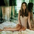 Summer Glau photo shoot for GQy