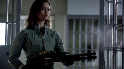 Summer Glau as Cameron Phillips in Terminator: The Sarah Connor Chronicles.