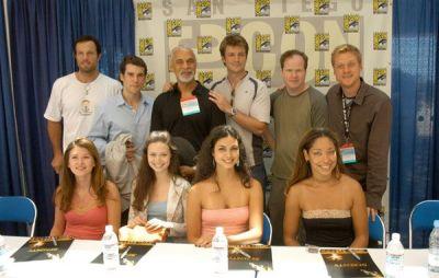 Comic Con, San Diego - July 23, 2004