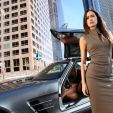 THE CAPE - On-Air Promo - Summer Glau as Orwell standing next to a Mercedes SLS AMG