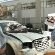 Behind the Scenes Look at a Car Crash With a Terminator