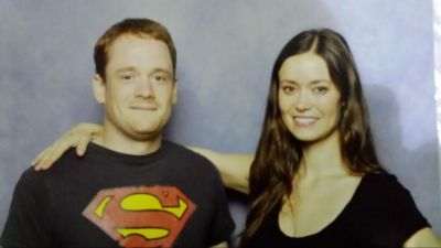 Summer Glau at London Film and Comic Con, July 11 - 13, 2014
