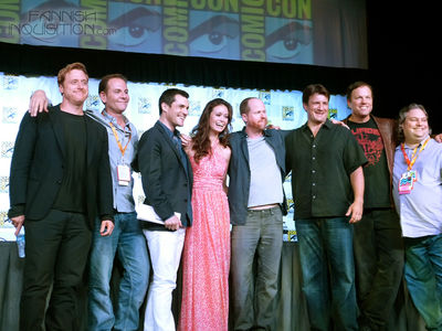 Firefly panel at Comic Con San Diego 2012