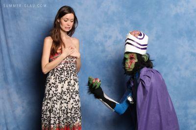 Summer Glau Meets Mojo Jojo Cosplay: The Story Behind this Amazing Photo