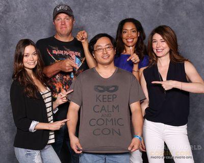 Wizard World Philadelphia Comic Con - Firefly cast