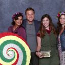 Summer Glau, Morena Baccarin and Alan Tudyk at Chicago Comic Con 2013