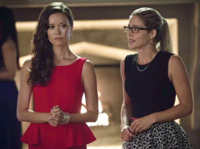 Summer Glau loves the comedic aspect of her scenes with Emily Bett Rickards