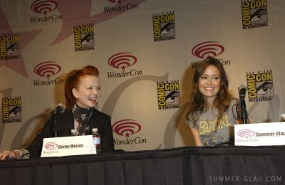 Summer Glau Talks TSCC season 2, Cameron and Romance at WonderCon 2009