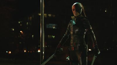 Summer Glau as Ravager in Arrow 2x21 City of Blood