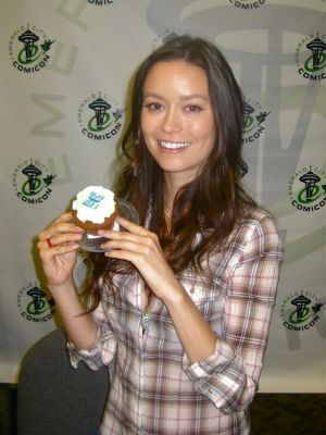 Firefly Cupcake for Summer Glau at ECCC