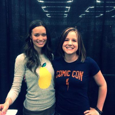Summer Glau at Wizard World Portland Comic Con, January 24 - 25, 2014