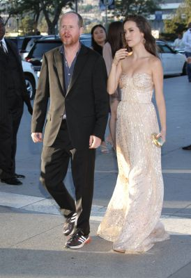 Summer Glau and Joss Whedon arrive at at the 2nd Dizzy Feet Foundation Celebration of Dance Gala