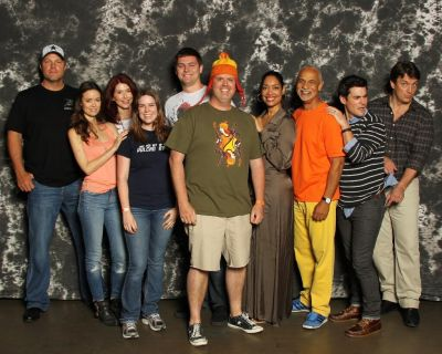 Firefly group photo at Dallas Comic Con, May 16 - 18, 2014