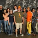 Firefly cast group photo at Dallas Comic Con