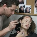 Prosthetic Makeup in TSCC - Cameron scars