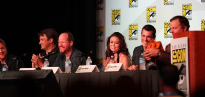 Summer Glau at Firefly 10th Anniversary Panel at Comic Con 2012