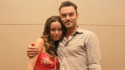 Interview for Japanese Magazine - Summer Glau and Brian Austin Green