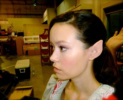 Summer Glau in Help for the Holidays - Elf ears