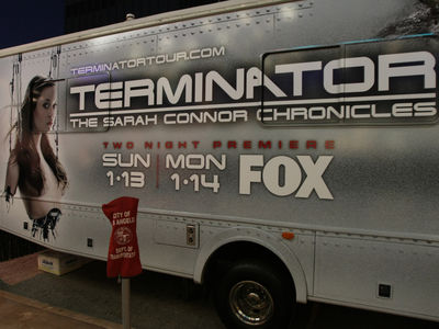 Terminator: The Sarah Connor Chronicles Premiere in Los Angeles