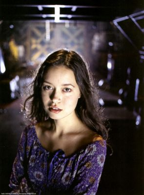 Firefly promotional image featuring Summer Glau as River Tam