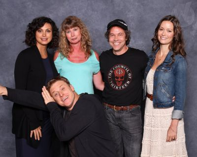 Wizard World Chicago 2013 with Morena Baccarin, Alan Tudyk and Summer Glau.