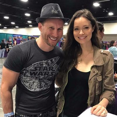 Hung out and had a great conversation with the beautiful and very hardworking and talented actress Summer Glau