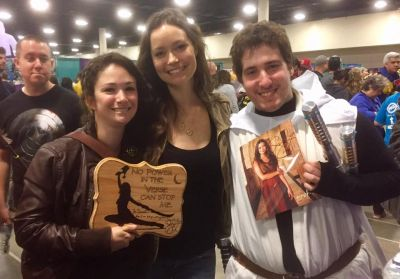Summer Glau loved my piece!!! She saw it and asked if she could give me a hug!