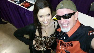 Selfie with Summer Glau at Paradise City Comic Con