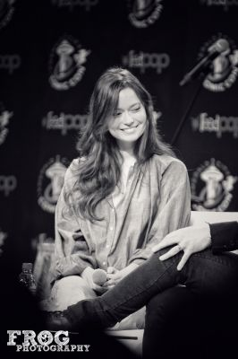 Summer Glau on stage at #ECCC #Firefly #Serenity