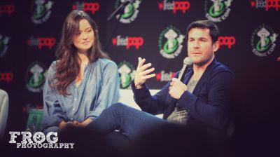 Firefly panel with Summer Glau & @Sean_M_Maher at #ECCC