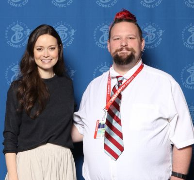Awesome opportunity today at Emerald City Comic Con 2018! I had a blast. Thank you Summer Glau for being very personable