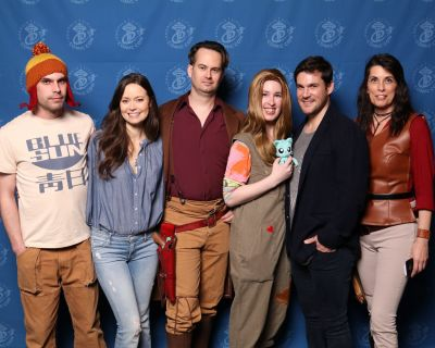Summer Glau and Sean Maher were soooo sweet to talk to and hear at the panel.