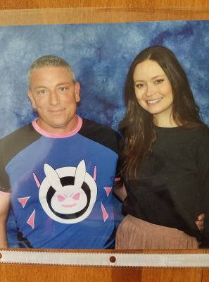Met Summer Glau aka River Tam from Firefly. She was so AWESOME