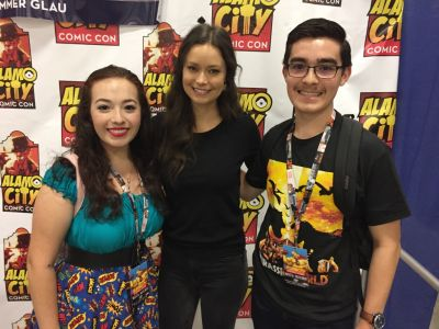 San Antonio native Summer Glau was so sweet to talk to!