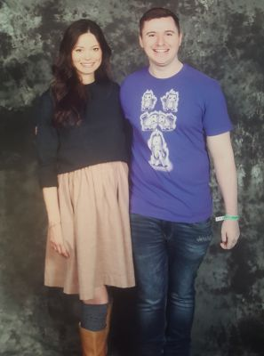 Managed to meet Summer Glau at Comic Con and get a slightly over the top photo