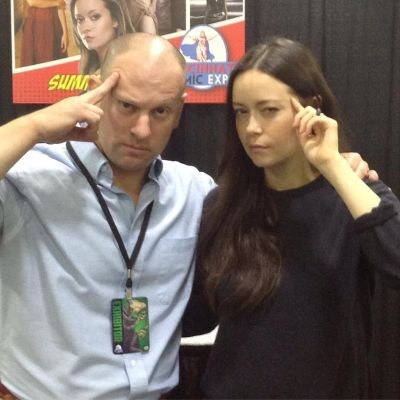 Got to meet Summer Glau, everyone's favorite lobotomized teenager from Firefly