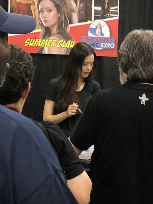 Meeting Summer Glau at Cincinnati Comic Expo - Photos & report