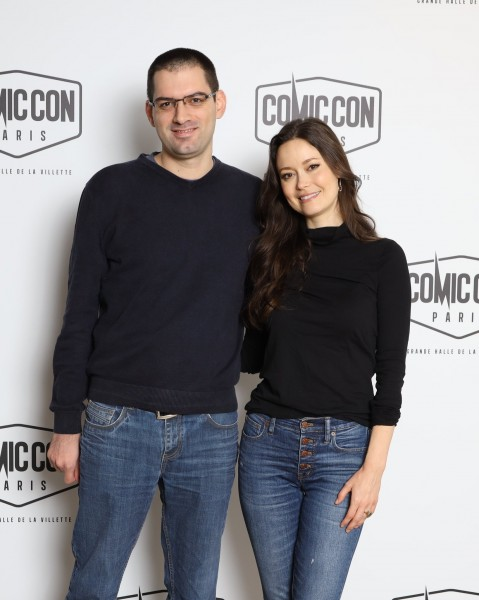 Avec Summer Glau (Firefly/Serenity, les 4400, série Terminator, Arrow...) - Comic Con Paris