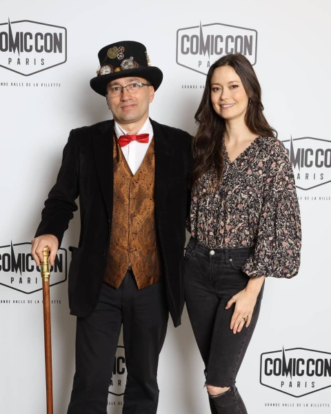 First images of Summer Glau from Comic Con Paris