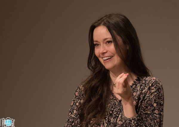 Summer Glau at her Comic Con Paris 2018 panel