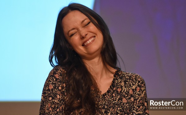 Summer Glau panel at Comic Con Paris 2018