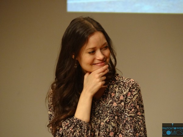 Photos from Summer's panel at Comic Con Paris