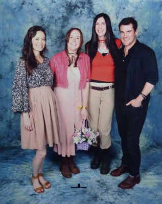 Photo op session at MCM London Comic Con.