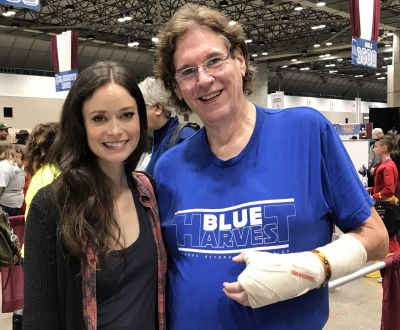 Summer Glau it was so great to see you again this weekend