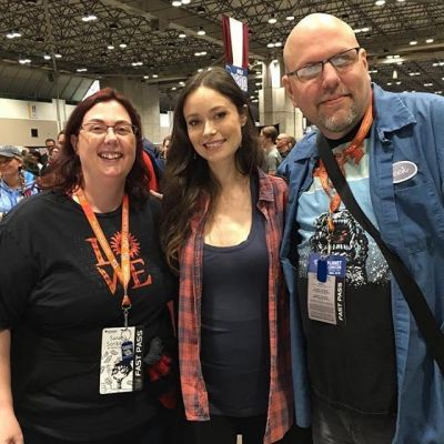Summer Glau at Planet Comicon. She was such a sweetheart.