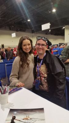 Me and Summer Glau!